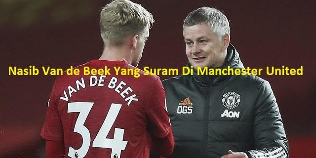 Nasib Van de Beek Yang Suram Di Manchester United